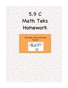 Homework for the New Math Teks
