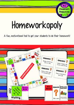 Homeworkopoly - Homework Motivation