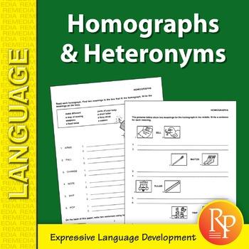Homographs & Heteronyms