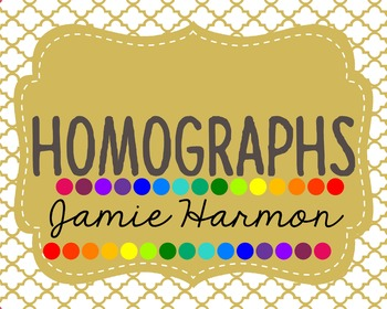 Homographs Mini Chart Set