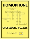 Homophone Crossword Puzzles