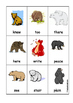 Homophone Bears Card Game