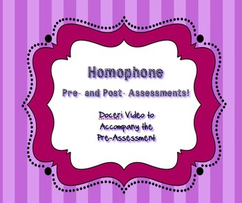 Homophone Doceri Video 5th Grade Common Core Standards