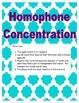Homophone Game
