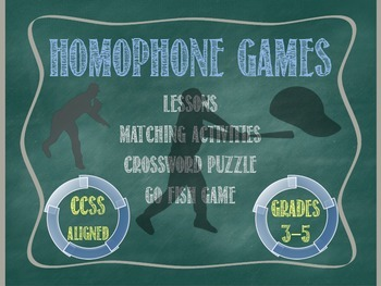 Homophone Games - Preview
