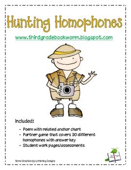 Homophone Jungle Hunt