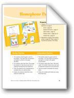 Homophone Pairs
