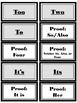 Homophone Practice Bundle-STAAR Writing Format