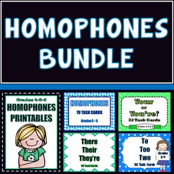 Homophones, Bundled for Savings!