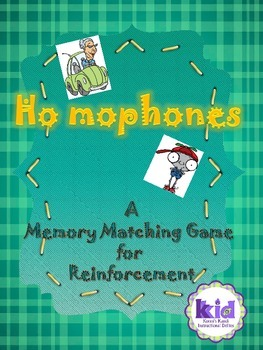 Homophones:  A Memory Matching Game for Reinforcement