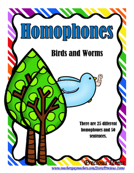 Homophones - Birds and Worms