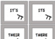 Homophones Game - Their, They're, There, Your, You're, Its, It's