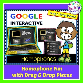 Google Classroom Homophones Activities & Matching