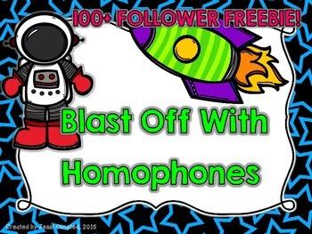 Homophones Presentation Bundle FREEBIE!