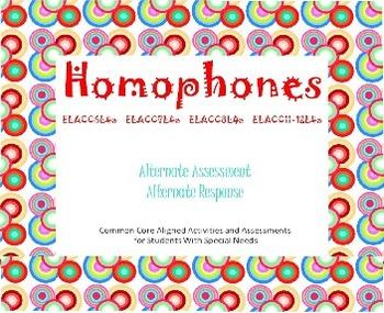 Homophones Smart Board Presentation, Activities, and Assessments