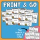 Homophones Task Cards : 32 Multiple Choice Cards for CCS L