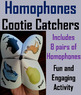 Homophones and Homographs 2nd 3rd 4th 5th 6th Grade