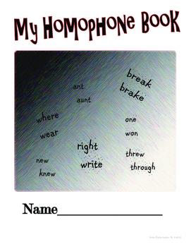 Homophones in English Book I- Bilingual English / Spanish