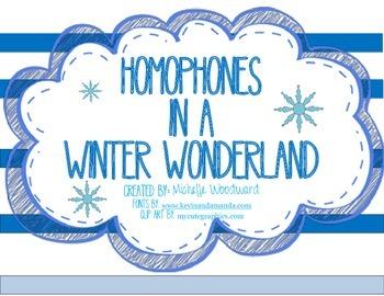 Homophones in a Winter Wonderland