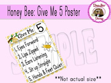 Honey Bee: 'Give Me 5' Poster