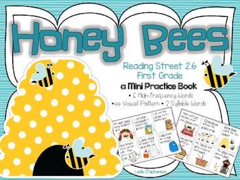 Honey Bees - A Mini Book