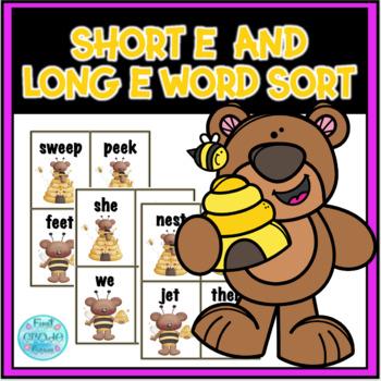 Honey Bees Long e Word Sort