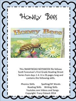 Honey Bees SMARTBoard Interactive Lesson Scott Foresman Re