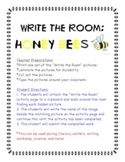 Honey Bees and Incredible Insects - Write the Room Activity Pack