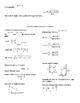 Honors Geometry Semester 1 and 2 Formula Sheets