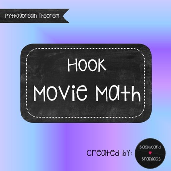 Hook Peter Pan Movie Math Pythagorean Theorem TEK 8.7C