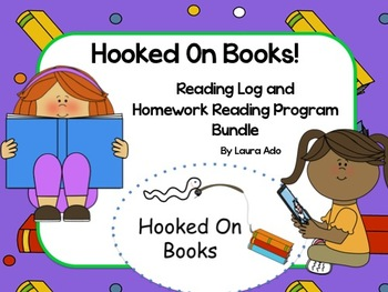 Hooked On Books Reading Logs, Parent Letters & Tracking Sp