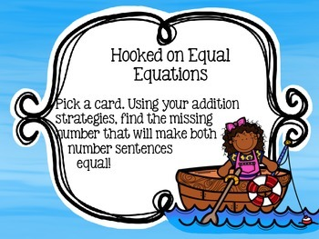 Hooked on Equal Equations
