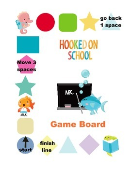 Hooked on Math Game Board