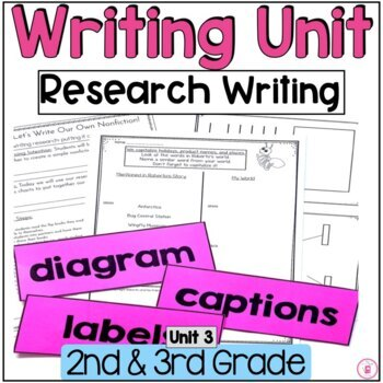 Hooked on Writing Unit 3 Research