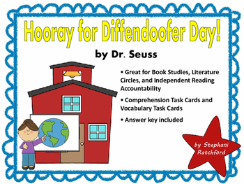 Hooray for Diffendoofer Day by Dr. Seuss Comprehension and