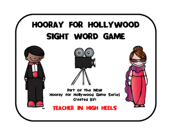 Hooray for Hollywood Game: Pre-Primer Sight Words