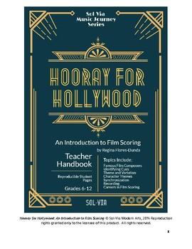 Hooray for Hollywood: No Prep Teacher Handbook on Film Sco