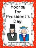 Hooray for President's Day!