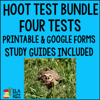 Hoot Tests ~ Four Tests Bundle