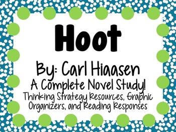 Hoot by Carl Hiaasen - A Complete Novel Study!