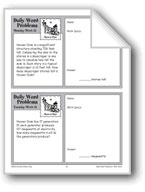 Hoover Dam (Grade 4 Daily Word Problems-Week 21)