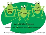 Hop Into Primer Sight Words