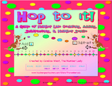 Hop to It! A Game of Number Line Counting, Adding, Subtrac