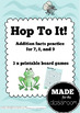 Hop to it - Addition facts practice