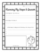 Hopes and Dreams Planning Sheet: A Resource Inspired by Re