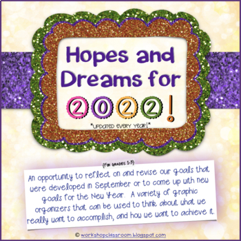 Hopes and Dreams for 2017 -- New Year's Activity