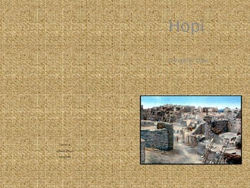 Hopi Informational Text