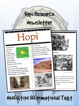 Hopi Native American/American Indian Research Newsletter!