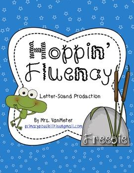 Hoppin' Fluency (Letter-Sound Production)