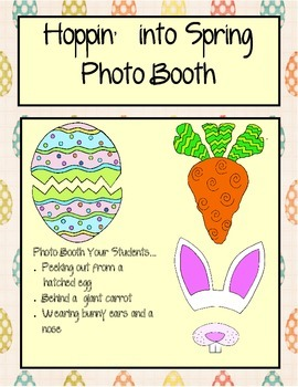 Hoppin' Into Spring: Photo Booth Props